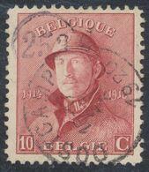 "Roi Casqué - N°168 Obl Simple Cercle ""Oostcamp"" (1920) - 1919-1920  Cascos De Trinchera"