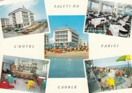 AK - Italien - CAORLE - Mehrbild Mit Alten Hotel PARIGI - 1969 - Venezia
