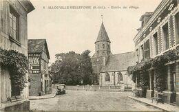 76 ALLOUVILLE BELLEFOSSE - ENTREE DU VILLAGE - Allouville-Bellefosse