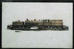 TRAIN - Locomotive Hollandaise Henschell ( )  Construite à KASSEL Pour L'Afrique Du Sud (Cpa Collection  F. Fleury  N°) - Trains