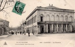 CPA     46  CAHORS---LE THEATRE---1909 - Cahors