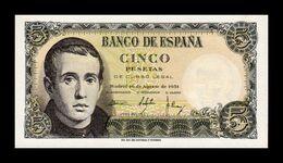 España 5 Pesetas Jaime Balmes 1951 Pick 140 SC UNC - [ 3] 1936-1975 : Regime Di Franco