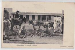 CASABLANCA (Maroc) - Forgeron Marocain Correspondance Militaire 1912 - Casablanca