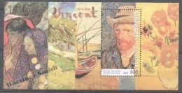 Georgie - Georgia 2003 Yvert BF 30, Vicent Van Gogh 150th Anniversary Of Birth - Miniature Sheet - MNH - Georgia