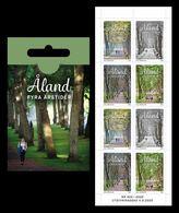 Aland 2020 Mih. 489/92 Four Seasones (booklet) MNH ** - Aland