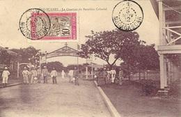 1912- C P A De Diego Suarez  Affr. 10 C Oblit  - 1 -  / MADAGASCAR - Brieven En Documenten