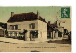 COULOMBS   //           CARREFOUR DE LE RUE CHANDELLE - Other Municipalities