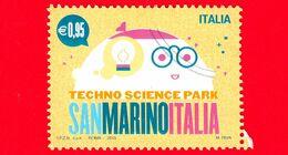 ITALIA - Usato - 2015 - Parco Scientifico Tecnologico San Marino-Italia - Robot - 0,95 - 2011-...: Oblitérés