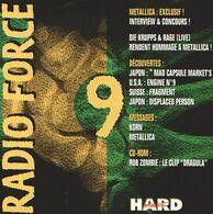RADIO FORCE 9 - CD - KORN - Die KRUPPS - METALLICA - Rob ZOMBIE - Hard Rock & Metal
