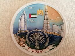"""CERAMIC PLATE """"DUBAI"""" - Autres"""