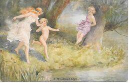 Illustrator - Thomas Maybank - A Woodland Idyll, Children, Enfants, Kinder, Fairy-like, Féerique, Feenhaft - Illustratori & Fotografie