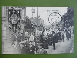 RUE  ( SOMME ) Procession De La Fete Du St - ESPRIT - Rue