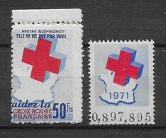 France Vignette - Croix Rouge - Neuf ** Sans Charnière - TB - Croix Rouge