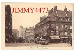 CPA - LILLE 59 Nord - Rue Des Manneliers ( Bien Animée, Vieilles Voitures ) N°13 - Edit. H. Victor Lille - Lille