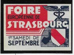 France Vignette - Foire De Strasbourg - Neuf Sans Gomme - TB - Andere