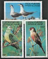 1981 French Polynesia Birds Set (** / MNH / UMM) - Oiseaux