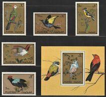 1971 Fujeira Exotic Birds Set (** / MNH / UMM) - Passereaux