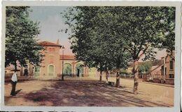 ALBI ( Tarn )  Gare Albi Madeleine Et Passerelle Colorisée - Albi