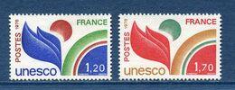 France - Timbre De Service - YT N° 56 Et 57 - Neuf Avec Charnière - 1978 - Neufs