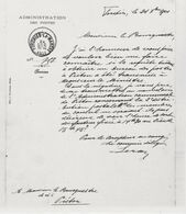 PIETON- Copies - 3 Lettres Au Bourgmestre Du 24/10/1901 - 28/01/1902 Et 31/05/1902 Pour L'instalation D'un Bureau Postal - Historische Dokumente