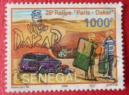 47 Sénégal Rallye Paris Dakar  Oblitéré - Automobile