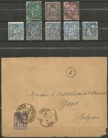 France - Type Sage - Dép.31 Haute-Garonne Dont Villaudric, Le Castera, Levignac-sur-Save, St.Gaudens, Bagnères-de-Luchon - 1877-1920: Semi Modern Period