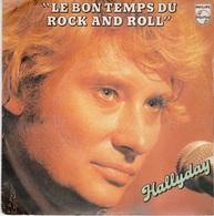 JOHNNY HALLYDAY -  VINYLE 45T  - 2 MORCEAUX - Rock