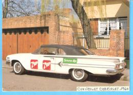 Oldtimer-Vintage Car-Chevrolet Impala-Cabriolet-1960-Publicité (Pub)-7 UP- Seven-Up - PKW