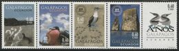2003 Ecuador 25th Anniversary Of Galapagos World Heritage Site Set (** / MNH / UMM) - Albatros