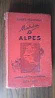 Guide Michelin Alpes 1934 - Michelin (guides)