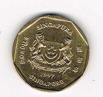 =&  SINGAPORE  1 DOLLAR   1997 - Singapore