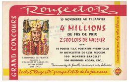BUVARD TAMPON LIBRAIRIE PAPETERIE HENRI IV ROBAT SUCCESSEURRUE HENRI IV LYON - ROUGE ET OR LE CLUB - Papierwaren