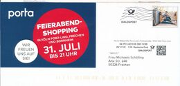 BRD / Bund Weiterstadt Dialogpost DV 08 0,30 Euro FRW 2020 Segmüller Möbelhaus - Covers