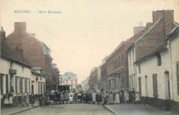 Belgique - Boussu - Rue Royale - Edit. Marcovici - Couleurs - Boussu