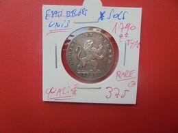 ETATS BELGES UNIS-REVOLUTION BRABANCONNE 10 SOLS 1790 2eme TYPE !!! RARE ET SUPERBE !!! (A.6) - ...-1831