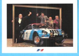 Alpine Renault-Champion Du Monde Des Rallyes-1973-J.C.Andruet-Bernard Darniche-J.P.Nicolas-J.Vinatier-Rallye Automobile - Rallye