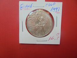 FRANCE 100 Francs 1993 ARGENT (A.6) - Commemorative