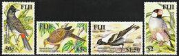 2007 Fiji Introduced Birds Species Set (** / MNH / UMM) - Passereaux