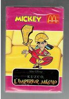 KUZCO L EMPEREUR MEGALO JEU DE 54 CARTES A JOUER JOURNAL DE MICKEY FILM WALT DISNEY MC DONALDS - Journal De Mickey