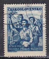 Cecoslovacchia, 1952 - 1,50k Student, Soldier And Miner - Nr.504 Usato° - Usati
