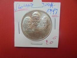 SLOVAQUIE 200 KORUN 1993 ARGENT (A.6) - Slovacchia