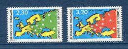 France - Timbre De Service - YT N° 104 Et 105 - Neuf Sans Charnière - 1990 - Neufs
