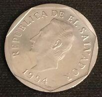 EL SALVADOR - 5 CENTAVOS 1994 - KM 154b - José Francisco Morazán Quezada - El Salvador