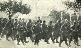 GEFANGENE FRANZOSEN IN KÖNIGSBRÜCK. 1914/15 WWI WWICOLLECTION - Weltkrieg 1914-18