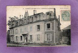 60 LAGNY LE SEC Château De Meslin N° 9 Animée  Enfants Aux Fenetres Du Château - Frankreich