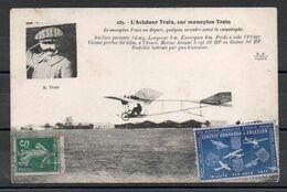 Aviateur Train - Vignette Circuit Européen D'Aviation Juin 1911 - Sin Clasificación