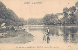 94 - ALFORT - SAINT MAURICE / LA MARNE AUX MOULINS D'ALFORT - APPRENTIS NAGEURS - Maisons Alfort