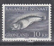 Grönland 1984 - Mi.Nr. 154 - Postfrisch MNH - Tiere Animals Fische Fishes - Fishes