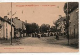 Availles-Limousine-Arrivée De Confolens - Availles Limouzine