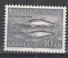Grönland 1986 - Mi.Nr. 168 - Postfrisch MNH - Tiere Animals Fische Fishes - Fishes